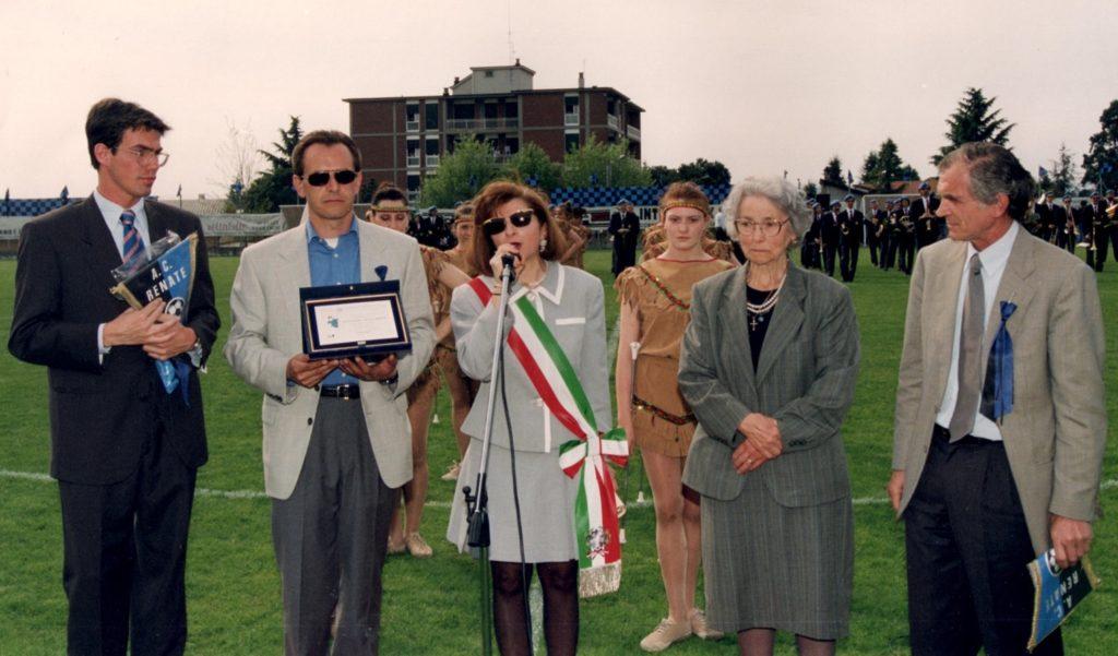 inaugurazione campo Riboldi 94-95